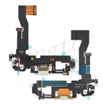 Charging Port with Flex Cable for iPhone 12 (6.1 inches)(Super High Quality) - Green