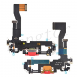 Charging Port with Flex Cable for iPhone 12 (6.1 inches)(Super High Quality) - Red