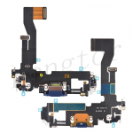 Charging Port with Flex Cable for iPhone 12 (6.1 inches)(Super High Quality) - Blue