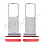 Sim Card Tray for Samsung Galaxy Note 20 N980/ Note 20 5G N981 (Single SIM Card Version) - Mystic Red