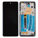 LCD Screen Digitizer Assembly with Frame for LG K92 5G K920 - Titan Gray