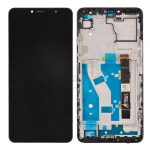 LCD Screen Digitizer Assembly with Frame for Alcatel 3V (2019) 5032 - Black