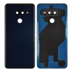 Back Cover with Camera Glass Lens and Adhesive Tape for LG G8 ThinQ LM-G820(for LG and G8 ThinQ) - New Aurora Black