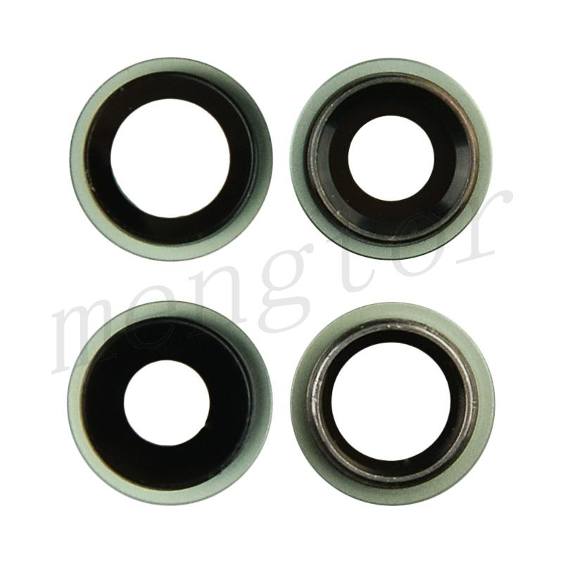 Rear Camera Glass Lens and Cover Bezel Ring for iPhone 12/ 12 Mini (2 Pcs/set) - Green