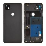 Back Housing with Camera Lens for Google Pixel 4a (for G) - Black