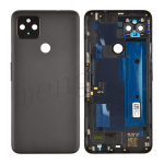 Back Housing with Camera Lens for Google Pixel 4a 5G (for G) - Black