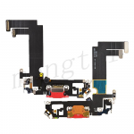 Charging Port with Flex Cable for iPhone 12 mini (5.4 inches) (Super High Quality) - Red