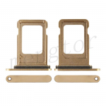 Sim Card Tray for iPhone 12 Pro/ 12 Pro Max (Single SIM Card Version) - Gold