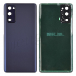 Back Cover with Camera Glass Lens and Adhesive Tape for Samsung Galaxy S20 FE G780 (for SAMSUNG) - Cloud Navy