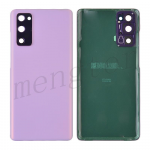 Back Cover with Camera Glass Lens and Adhesive Tape for Samsung Galaxy S20 FE G780 (for SAMSUNG) - Cloud Lavender