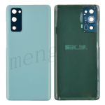 Back Cover with Camera Glass Lens and Adhesive Tape for Samsung Galaxy S20 FE G780 (for SAMSUNG) - Cloud Mint